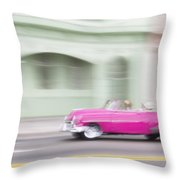 Moving Antique Throw Pillow