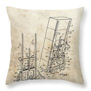 Moving Dolly Patent Throw Pillow