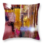 Moving Light Throw Pillow