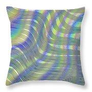Moving Matrix Throw Pillow