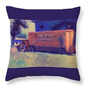 Moving On Throw Pillow