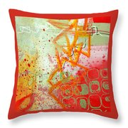 Moving Through 34 Throw Pillow