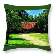 Moving Toward The Shade Throw Pillow