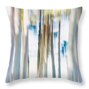 Moving Trees 3 30-45 Throw Pillow