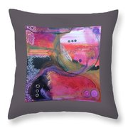Moving Universe  Throw Pillow