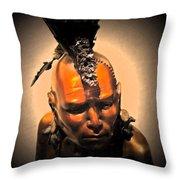 Mowhawk Throw Pillow