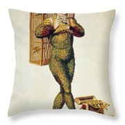 Mozart: Magic Flute, 1791 Throw Pillow