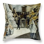 Mozart: Magic Flute Throw Pillow