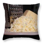 Mozzarella Throw Pillow
