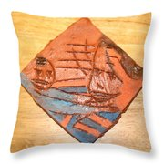 Mpeeka - Tile Throw Pillow