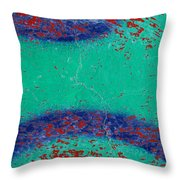 Mr Blue Jangles Throw Pillow