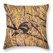 Mr. Camouflage Throw Pillow