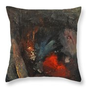 Mr. Cheney Arrives In Hell Throw Pillow