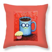 Mr. Coffee Throw Pillow