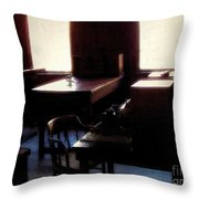 Mr. Edison Has Left The Building Throw Pillow