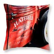Mr. Fender Throw Pillow