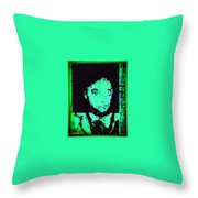Mr. Fright By Nite Throw Pillow