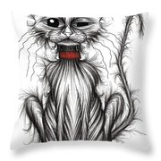 Mr Grump Throw Pillow