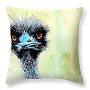 Mr. Grumpy Throw Pillow