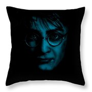 Mr Harry Potter Throw Pillow