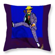 Mr Melody Throw Pillow