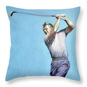 Mr Palmer Throw Pillow