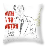 Mr Smith Goes To Washington  Throw Pillow