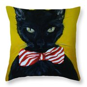 Mr. Sophisticated  Throw Pillow