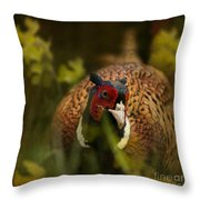 Mr Spring Throw Pillow
