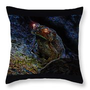 Mr Toads Wild Eyes Throw Pillow