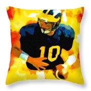 Mr. Tom Brady Throw Pillow