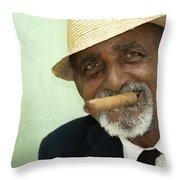 Mr Trinidad  Throw Pillow