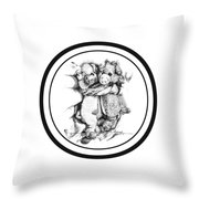 Mr.andmrspeggysweet Throw Pillow