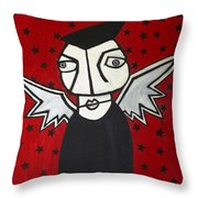 Mr.creepy Throw Pillow