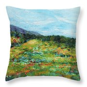 Mrkovici Village 201807 Throw Pillow