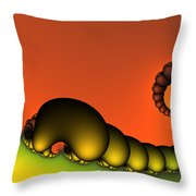 Mrs. And Mr. Centipede Throw Pillow