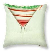 Mrs. Claustini Throw Pillow