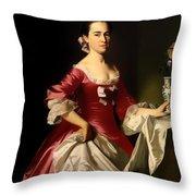 Mrs George Watson Throw Pillow