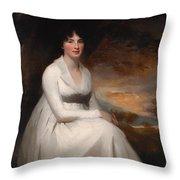 Mrs Macdowall Throw Pillow