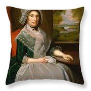 Mrs Richard Alsop 1792 Throw Pillow