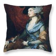 Mrs Siddons. British Actress Sarah Throw Pillow