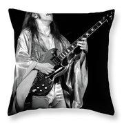 Mrsea #40 Enhanced Bw Throw Pillow