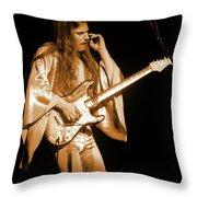 Mrsea #48 Enhanced In Amber Throw Pillow