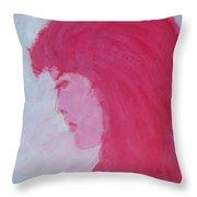 Ms. Amanda Throw Pillow