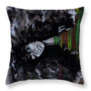 Ms Erykah Badu To You Fool Throw Pillow