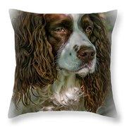Ms Kaya 2 - Vignette Throw Pillow