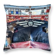 Msc Diana Throw Pillow