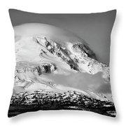 Mt Adams Throw Pillow