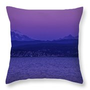 Mt. Baker Splendor Throw Pillow