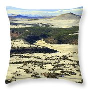Mt. Capulin New Mexico Throw Pillow